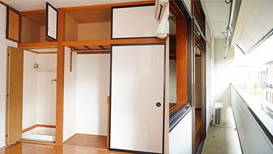【明るく広い収納たっぷり】窓とベランダが広いのが人気!収納もたっぷりです!